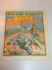BATTLE ACTION FORCE BRITISH WEEKLY IPC 13TH JULY 1985^