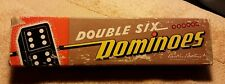 Vintage Parker Brothers Double Six Dominoes Dragons Instructions