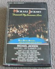 MICHAEL JACKSON - FAREWELL MY SUMMER LOVE music cassette tape