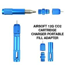 Portable Airsoft Magazine 12g Co2 Cartridge Adapter Refill Chargers Adapter
