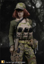 Fire Girl Toys 1/6 FG043 Navy SEALs women CP camouflage commando suit