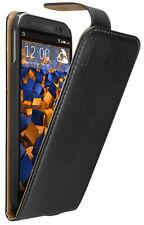 mumbi Ledertasche für HTC One M8 M8s Tasche Hülle Case Cover Flip-Case Schutz