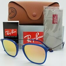 NEW Rayban sunglasses RB2448N 62547O 51 Blue Brown Copper Gradient GENUINE 2448