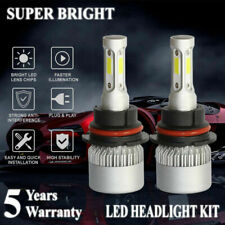 Pair 9007 HB5 LED 2000W 300000LM Headlight Conversion Kit White 6000K Hi/Lo Beam