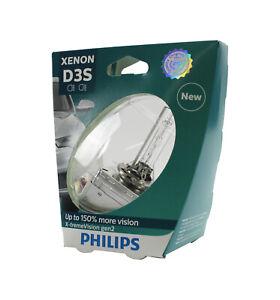 Genuine PHILIPS Xenon X-treme Vision Gen2 D3S 35W - Single HID Headlight Bulb