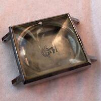Ulysse Nardin mens wristwatch steel case 28,5 mm. aside