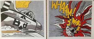 """Roy Lichtenstein 1965/66, 3 X Pictures """"Whaam!"""" & """"Shipboard Girl"""" Pop Art B54"""