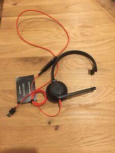 Plantronics Blackwire 5200 Headset - New