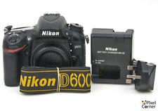 Nikon D600 24.3MP FX DSLR Digital Full frame camera body Nice 6083529