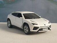 PERSONALISED LAMBORGHINI URUS WHITE 5' MODEL CAR  NEW BOYS TOYS PRESENT GIFT
