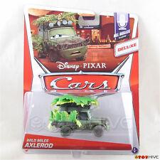 Disney Pixar Cars 2014 Wild Miles Axlerod Deluxe Mel Dorado Show series #6 of 9
