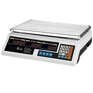 VILOBOS 88LB Digital Weight Food Meat Computing Market Produce Kitchen Scale New