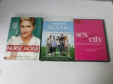 3 pack of comedies - Nurse Jackie, Weeds & Sex in the City - FREE SHIPPING