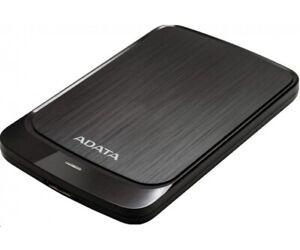 NEW ADATA HV320 5TB Black SLIM External HDD Storage Portable USB 3.1 Hard Drive