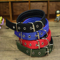 Nylon Collar Buckle Collar Adjustable Neck Strap for Large Medium Small Pet Dog