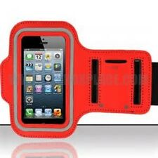 Red Armband For iPhone 5/5S/5SE ipod Touch Sport Gym Running Case Cover