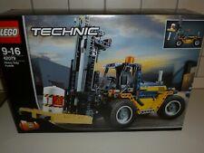 LEGO 42079 TECHNIC Carrello Elevatore HEAVY DUTY FORKLIFT pezzi 592 stock NUOVO