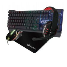4In1 Gaming Pro Set Corded LED Keyboard Mouse & Headphone with Mouse Pad - X11