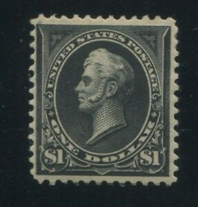 1895 US Stamp #276 type I $1 Mint OG F/VF Perf 12 Catalogue Value $600 Certified