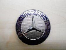 Mercedes Benz MB original Stern Abdeckung Emblem Motorhaube C-Klasse W 204 Blau