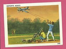 Airplane Kites Toy Hobby Vintage 1960s Sports Card from Spain