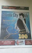 FRANK SINATRA 100TH BIRTHDAY COVER ATLANTIC CITY  PAPER 12/10-16, 2015 NEW