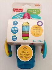 Pila 'N Tienda Sippy de Fisher-price 2 Paquete De Entrenamiento Para Niños Tazas. Reino Unido Vendedor