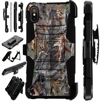 Lux-Guard For iPhone 6/7/8 PLUS/X/XR/XS Max Phone Case Cover CAMO TREE