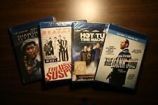 Blue ray lot of 4  - Bank Job, Shawshank, Hot Tub Time Machine, Usual Suspects