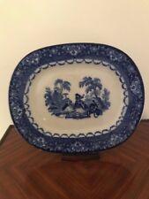 Royal Doulton Antique  Burslem Watteau Serving Platter Late 19th Century