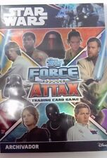 CARTAS  STAR WARS FORCE ATTAX UNIVERSE 2017: DESDE 0,25€