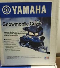 2003 Yamaha Rx1 Oem Deluxe Snowmobile Cover blue
