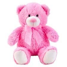 Teddybär Rosa 50 cm groß mit Schleife Kuscheltier Teddy Kuschelbär Bär