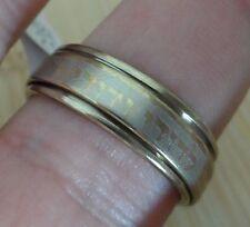 ANI LE DODI LI VINTAGE RING Stainless steel GOLD Color Israel  Jewish