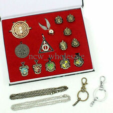 14 Pcs Harry Potter wand Magical wands rings necklace decorate Gift cosplay game