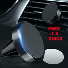 In Car Magnetic Phone Holder Mobile Fits Air Vent Universal Mount Magnet Dash UK