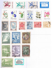 ARGENTINA   Album page of Mint/Used Stamps (M553)