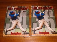 SAMMY SOSA 1999 TOPPS HR PARADE #34 and #36 MINT CONDITION CHICAGO CUBS
