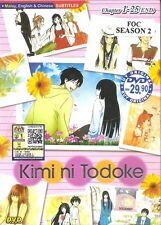 DVD Kimi ni Todoke Complete Season 1 + 2  Anime Box set