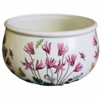 Portmeirion BOTANIC GARDEN Cyclamen Romantic Vegetable Salad Bowl 1972 England