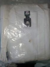 New RMR Karate/Tae Kwon Do POLY COTTON UNIFORM WHITE GI 8oz size 5 (180cm)