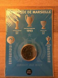 """1 euro 1/2 BU de la MDP   """"O.M""""   France 2011"""