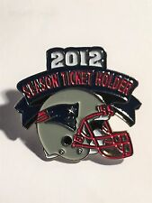 2012 New England Patriots Season Ticket Holders Pin NFL