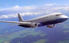 Fairchild Dornier 728 Jet Airplane Handcrafted Wood Model Large New