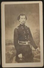 Civil War CDV Confederate General Felix Zollicoffer KIA Belmont 1862