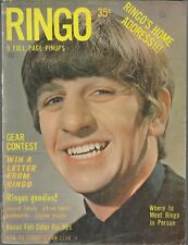 Very Rare 1964 ,Teen Screen Magazine, The Life of Ringo Starr. Nice condition.
