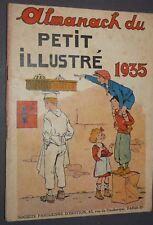 ALMANACH DU PETIT ILLUSTRE 1935 TYBALT VO-LO-VANG BD PERIODIQUES S.P.E.