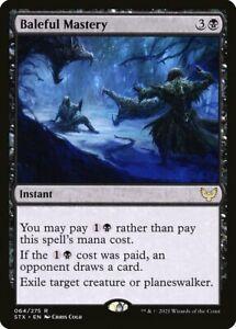 Baleful Mastery - Strixhaven - Magic The Gathering - MTG RARE Card