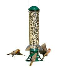 New listing Hanging Bird Feeder Squirrel Proof with 3 Feeder Port Holes Station Metal Base