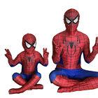 Boys Men/Kids Spiderman Bodysuit Costume Superhero Fancy Party Cosplay Clothing